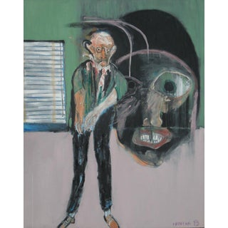 Modern Art Expressionist Oil Painting by Michael Hafftka - Meltzer & Meltzer