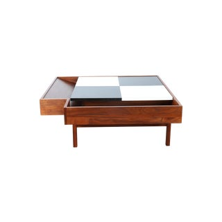 John Keal for Brown Saltman Checkered Coffee Table