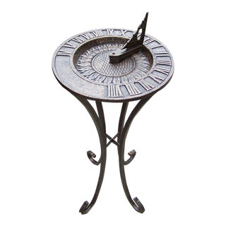 Sunflower Cast Iron Sundial