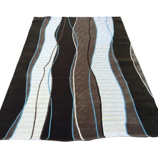 Contemporary Brown Surya Wool Rug - 5' X 8'