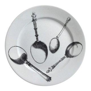Piero Fornasetti Renaissance Flatware Pottery Plate