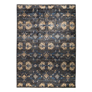 New Hand Knotted Area Rug - 9' x 12'7""