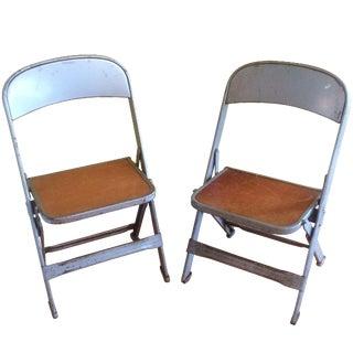 Clarin Mfg. Company Children's Chairs -  A Pair
