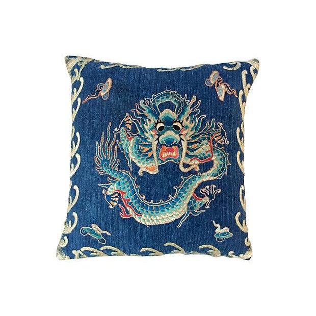 Emperor's Opera Robe Dragon Pillow - Image 1 of 4