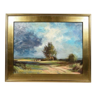 Impressionist Landscape Oil Painting by Listed Artist Nino Pippa