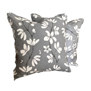 West Elm Floral Pillow Covers - A Pair