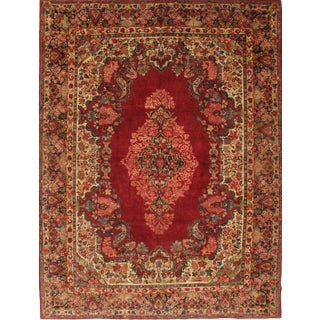 "Pasargad N Y Antique Persian Hand Knotted Sarouk Rug - 10' 3"" X 13' 11"""
