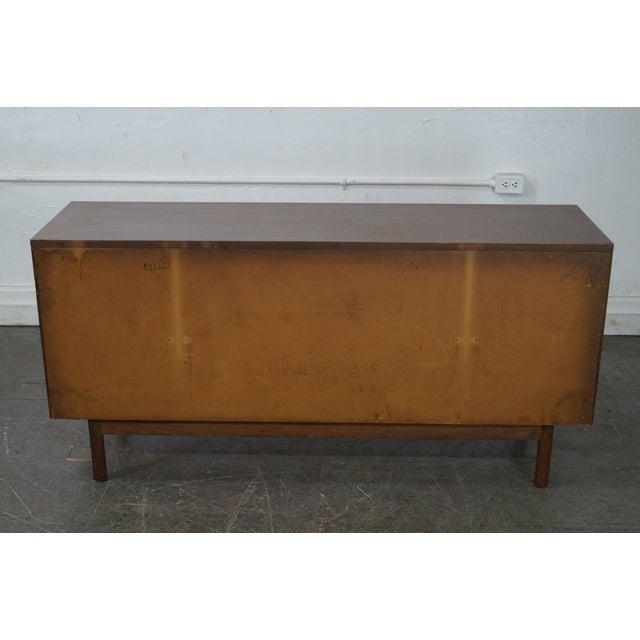 Stanley Mid Century Modern Walnut Paul McCobb Style Dresser - Image 4 of 10