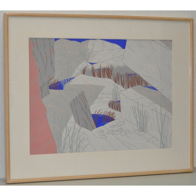 """Jeff Long """"Indian Wells"""" Painting C.1983 - Image 2 of 6"""