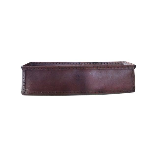 Vintage Long Leathered Box - Image 1 of 4