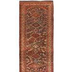Image of Antique 19th Century Persian Kurdish Rug