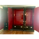 "Image of 1970's Asian Lacquer & Pearl ""Oshi-Ire"" Wardrobe Closet"