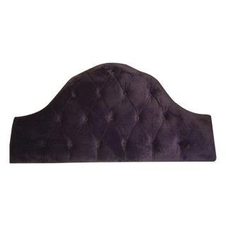 Velvet Tufted Headboard