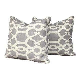 Lee Jofa Throw Pillows - A Pair