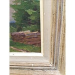 Image of Vintage French Landscape Painting