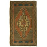 "Image of Vintage Kurdish Carpet - 1'11"" X 3'3"""