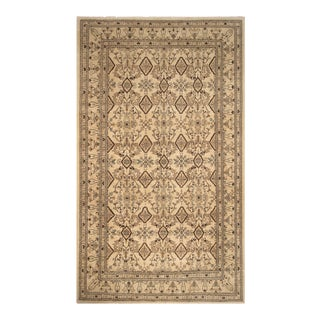 Dori Tan & Brown Wool Rug - 13′11″ × 17′11″
