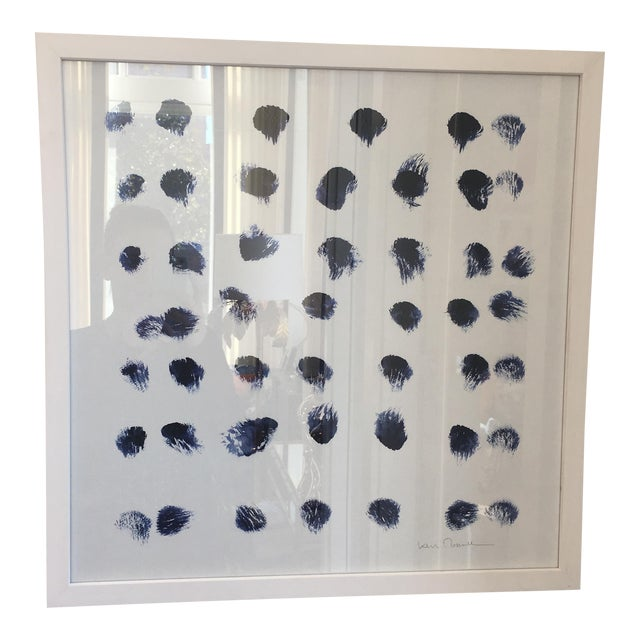 """""""Indigo Dots"""" Art Print Curated by Kate Spade - Image 1 of 4"""