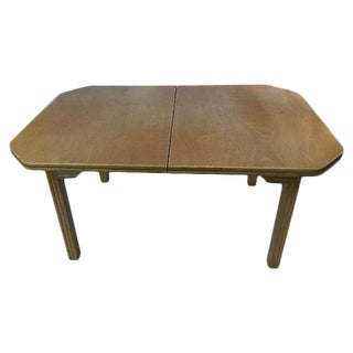 Honey Tone Bamboo Style Leg Dining Table