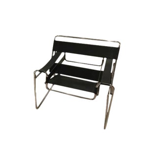 Vintage Marcel Breuer Wassily Style Chair