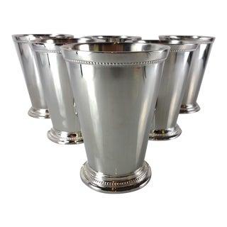 Arhaus Stainless Steel Barware Cups - Set of 6