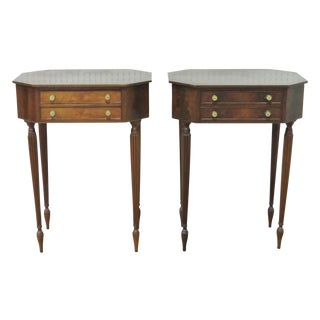 Louis XVI Style Octagonal Stands - A Pair