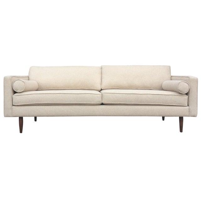 Cream Mid-Century Sofa - Image 1 of 5
