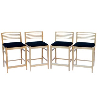 Joe & Linda Ricchio for Knoll Counter Height Bar Stools - Set of 4