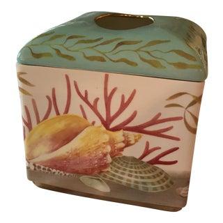Nautical Ceramic Tissue Box