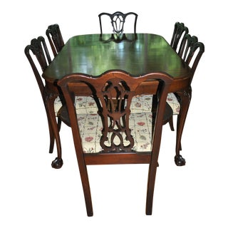 Chippendale Mahogany Dining Set