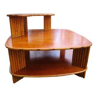 Vintage Ritts Co. Tropitan Corner Table
