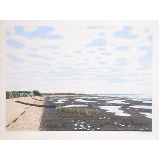 Bill Sullivan  Low Tide 20 Hand Colored Lithograph