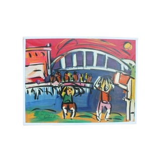Vintage Peter Keil Original Painting