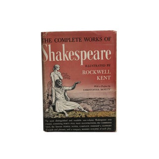 """""""Complete Works of William Shakespeare"""" Illustrated by Rockwell Kent 1936"""