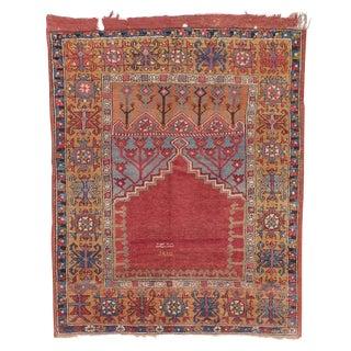 Antique Konya Prayer Rug