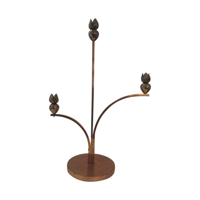 Image of Cyrille Steiner Arts and Crafts Candlestick