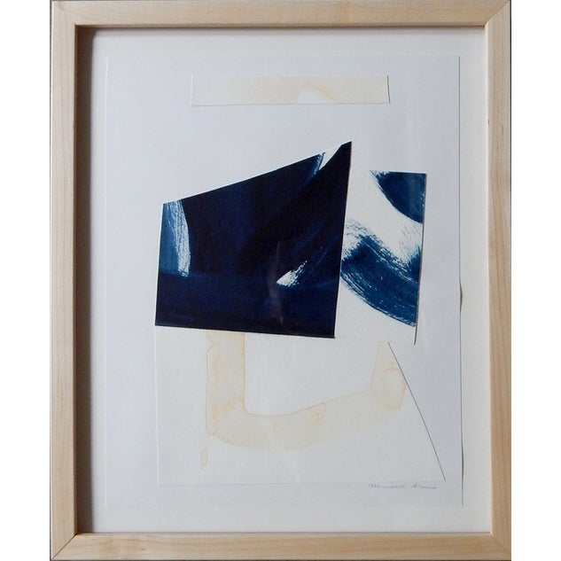 """Image of Michelle Armas Stroke of Blue Collage 14""""x17"""""""