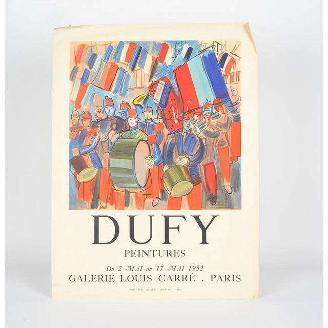 Mourlot & Raoul Dufy 1952 Exhibition Poster - Image 2 of 7