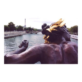 "Louise Weinberg ""Water Goddess With Cattails and Eiffel Tower, Paris"" Photo"