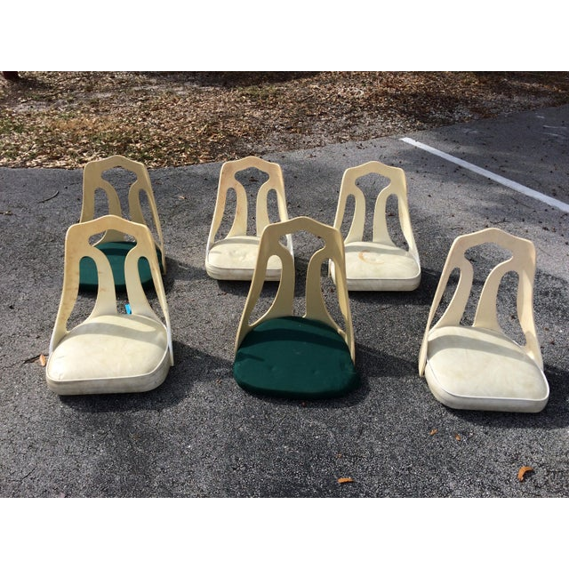 Image of Chrome-Craft Mid-Century Modern Acrylic Chair Seats- Set of 6