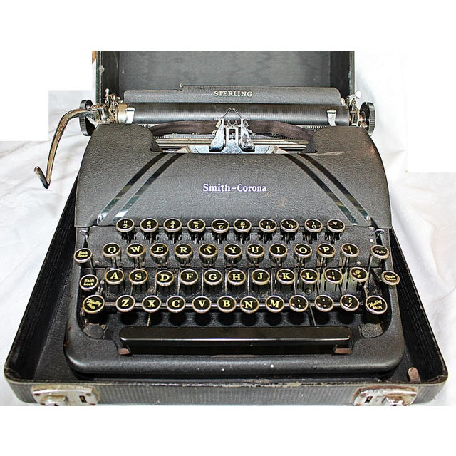 Smith-Corona Sterling Typewriter - Image 6 of 10