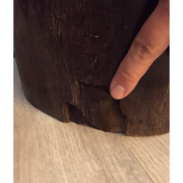 Image of Large Petrified Wood Trunk