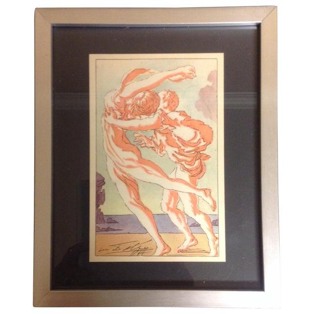 Salvador Dali Original 1947 Color Lithograph - Image 1 of 3