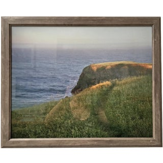 Framed Ocean Path Photography