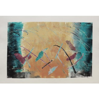 "Martha Holden ""Flight"" Mono Print"