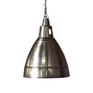 Industrial Chrome Lantern