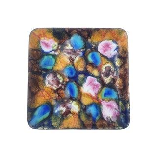 Vintage Multicolor Enamel Dish