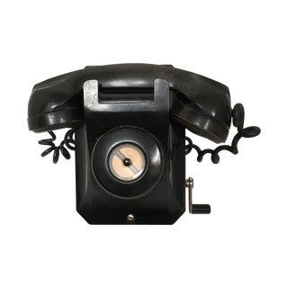 Stromberg Carlson Black Bakelite Crank Telephone