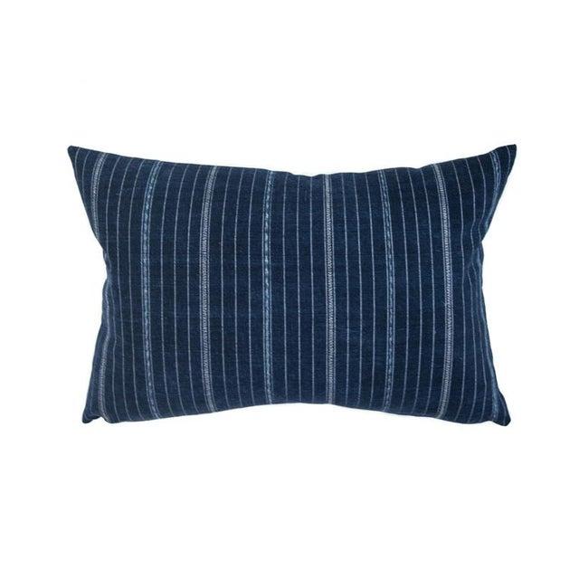 Vintage Guatemalan Indigo Pillow - Image 1 of 7