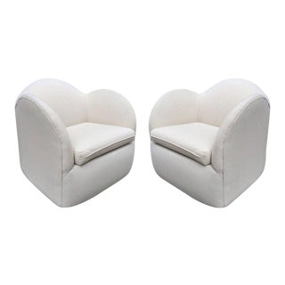 Pair of Art Deco Swivel Chairs